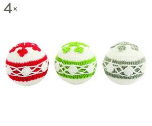 Set de 12 bolas de Navidad Winter- 8x8 cm