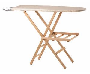 Tabla de planchar en madera de haya