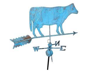 Veleta de hierro Vaca – azul