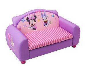 Sofá infantil de 2 plazas en madera Minnie