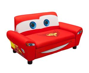 Sofá infantil de 2 plazas en madera Cars