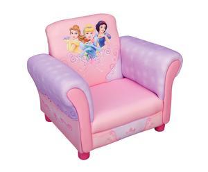Sillón infantil en madera y tejido Princess