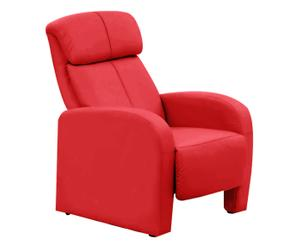 Butaca reclinable Victoria - rojo
