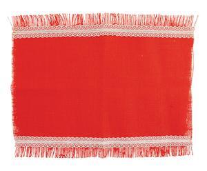 Servilleta de yute Lady, rojo - 30x45 cm