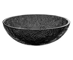 Lavabo de resina Camille Baccarat - negro