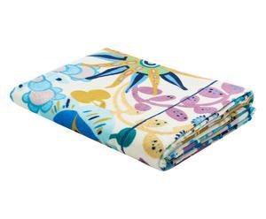 Toalla de ducha de algodón Rita - azul, 150x90 cm
