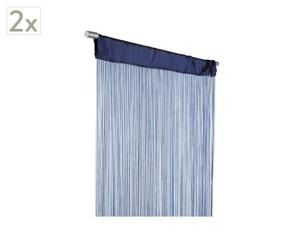 Set de 2 cortinas Rainbow – azul