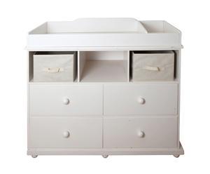 Mueble de lavabo Alana - blanco