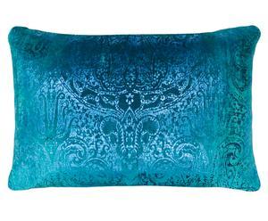 Cojín Velvet, turquesa - 45x65