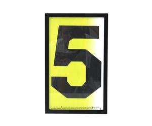Cuadro decorativo Five - 40x25