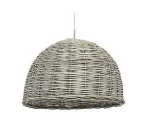 Lámpara de techo en caña Rústico - gris