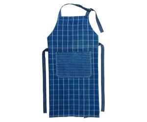 Delantal de cocina Karo - azul