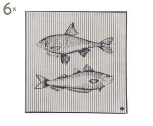 Set de 6 paquetes de 20 servilletas de papel - 33x33 cm
