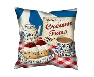 Kussen Delicous Cream Teas, multicolor, 45 x 45 cm