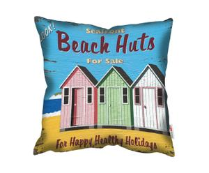 Kussen Beach Huts For Sale, multicolor, 45 x 45 cm