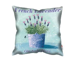 Kussen French Lavender, multicolor, 45 x 45 cm