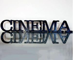 Palabra decorativa Cinema