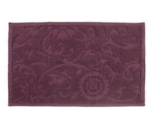 Alfombra de baño Floral – púrpura