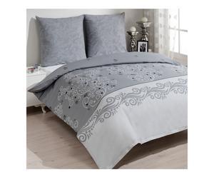 Set de ropa de cama Osma, gris – 200x220