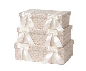 Set de 3 cajas Lumina