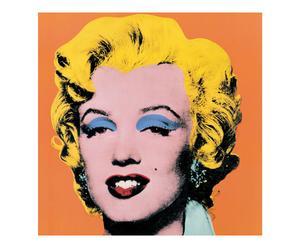 Impresión en madera Marilyn, de Andy Warhol