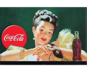 Impresión en madera Coca-Cola I