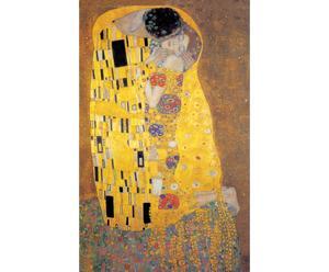 Impresión en madera El beso, de Gustav Klimt