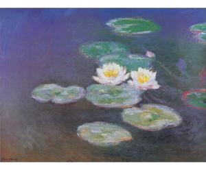 Impresión en madera Ninfea, de Claude Monet