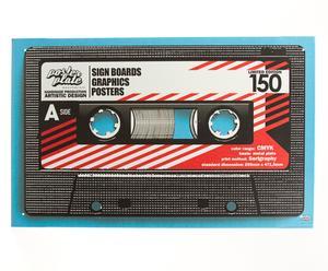 Póster Cassette