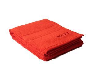 Toalla de ducha California – rojo