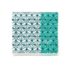 Toalla de ducha en algodón Perfection - verde