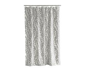 Cortina de ducha de poliéster Palm knit – 180x200 cm