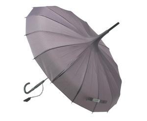 Paraguas con puntos brillantes - Gris