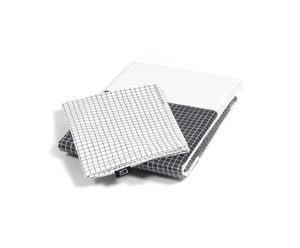 Funda nórdica 150x210 y funda de almohada 50x60 – cuadros blanco y negro