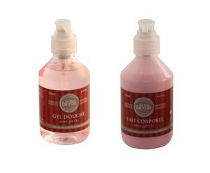 Gel de ducha + Loción corporal – Pétalos de rosa