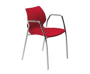 Silla Uni 551 - Rojo