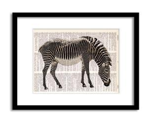 Lámina Zebra africana