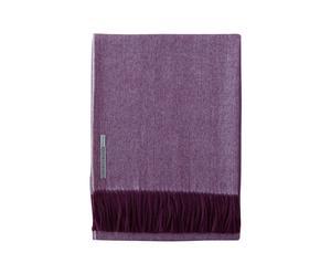 Plaid baby alpaga herringbone, violet - 135*180