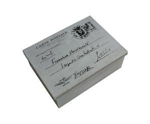 Boite carte postale, zinc – L19