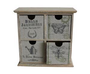 Cabinet belle jardinière, bois – H24