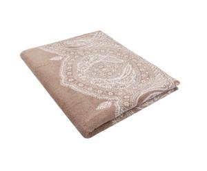 Drap de bain HARLEQUIN coton, taupe - 90*165