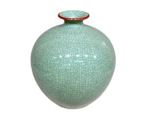Vase Celadon, porcelaine – H36