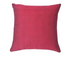 Coussin carré coton, fuschia  - 50*50