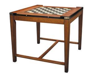 Table de jeux, merisier