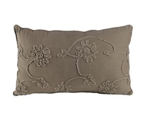 Coussin Coton, Taupe – 40*64