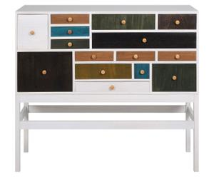 Commode paulownia, Multicolore - L114