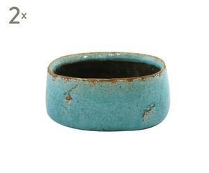 2 Pots, Céramique - L20