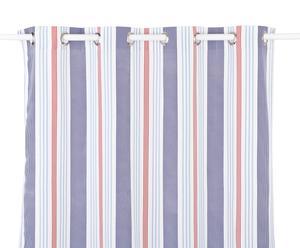Rideau LIGNES, Bleu et Blanc - 245*140