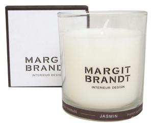 Bougie parfumée senteur Jasmin, cire naturelle - 150g