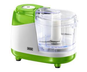 Robot multifonctions, Inox et plastique - Vert et blanc
